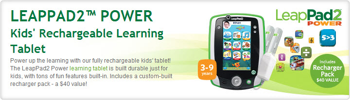 LeapPad2-Power